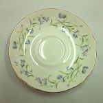 Duchess China Harebell - Large Breakfast Saucer 15cm