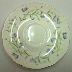 Duchess China Harebell - Tea Saucer 14cm