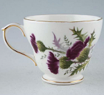 Duchess China Highland Beauty Thistle Teacup