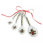 Portmeirion Holly & Ivy Measuring Spoons