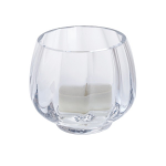 Dartington Little Treasures Clear Optic Votive with Tealight