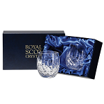 Royal Scot - London - Presentation Box 2 Barrel Tumblers