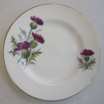 Duchess China Highland Beauty Thistle Luncheon Plate 24cm