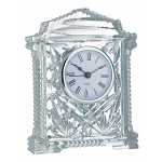 Galway Crystal Lynch Carriage Clock 6.5 inches