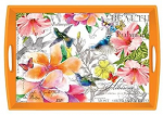 Michel Design Works - Paradise Large Decoupage Wooden Tray