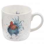 Royal Worcester Wrendale Designs - Mug - Cockerel - King of the Coop