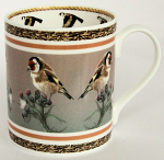 Robert Fuller - Goldfinch Thistle Bone China Mug