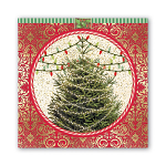 Michel Design Works - Napkins - Luncheon - O Tannenbaum (O Christmas Tree)