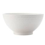 Maxwell & Williams White Basics Diamonds Noodle Bowl 18cm