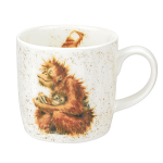 Royal Worcester Wrendale Designs - Mug - Orangutangle Orangutan