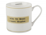 Creative Tops Origami Mug How to Make a Plane Gift Boxed