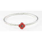 Poppy Bracelet - Sparkle Bangle & Poppy
