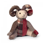 Dora Designs - Door Stop - Patchwork Ram