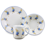 Beatrix Potter Peter Rabbit 3 Piece Breakfast Set Gift Boxed