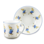 Beatrix Potter Peter Rabbit 2 Piece Breakfast Set Boxed