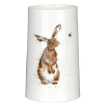 Royal Worcester Wrendale Designs - Vase 17cm - The Hare & Bee