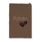 Eddingtons Potato Store Storage Bag with Zipper and Blackout Lining