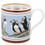 Robert Fuller - Puffin Bone China Mug