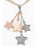 Rose Gold Pendant - Stars