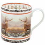 Robert Fuller - Red Stag Bone China Mug