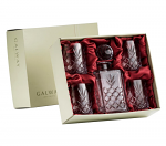 Galway Crystal Renmore Decanter and 4 Glasses Set