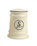T&G Pride of Place Salt Shaker in Old Cream