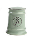 T&G Pride of Place Salt Shaker in Old Green