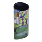 Silhouette d'art Vase - George Seurat - A Sunday on the Grand Jatte