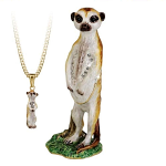 Arora Hidden Treasures Secrets - Meerkat Trinket Box