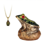 Arora Hidden Treasures Secrets - Frog Trinket Box