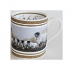 Robert Fuller - Sheep - Ewe and Lambs Bone China Mug