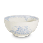 Burleigh Blue Asiatic Pheasants Chinese Footed Bowl Small