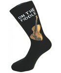 Socks for Men - On the Fiddle Socks