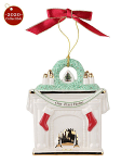 Spode Christmas Tree - Decoration - 2020 Our 1st Home Fireplace