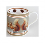 Robert Fuller - Red Squirrel Bone China Mug
