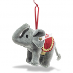 Steiff Christmas Elephant Ornament 10cm Limited Edition