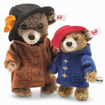 Steiff Paddington & Aunt Lucy Miniature Set Mohair Limited Edition