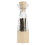 T&G - Stockholm Pepper Mill In Clear Acrylic & Beech