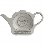 T&G Pride of Place Tea Bag Tidy in Cool Grey
