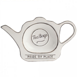 T&G Pride of Place Tea Bag Tidy in White