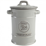 T&G Pride of Place Tea Jar in Cool Grey