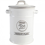 T&G Pride of Place Tea Jar in White