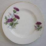 Duchess China Highland Beauty Thistle Tea Plate 16cm