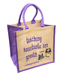 Jute Shopping Bag - Teaching Assistants are Great