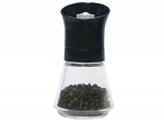 T&G - Tip Top Pepper Mill with Black Top & Glass Base