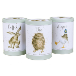 Wrendale Designs - Tea Coffee and Sugar Tin Set of 3