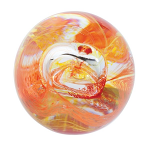 Caithness Glass Paperweight Mooncrystal Fire
