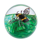 Caithness Glass Paperweight Busy Bees - Buzzing Bee