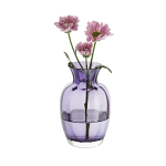 Dartington Little Treasures Amethyst Optic Vase