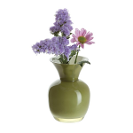 Dartington Little Treasures Olive & White Vase